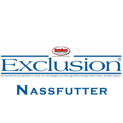 Exclusion Nassfutter