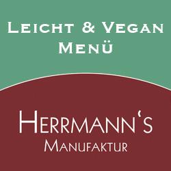 Leicht und Vegan Menü