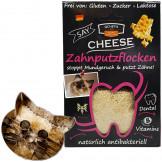 QCHEFS Zahnputzflocken Katze, 80g
