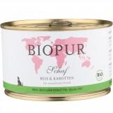 BIOPUR Schaf, Reis & Karotten