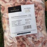 Barfgold Ziegenmuskelfleisch, durchwachsen, gewürfelt 1000g