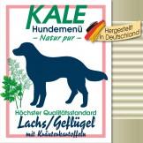 Kale Dose Lachs/Geflügel mit Kräuterkartoffeln