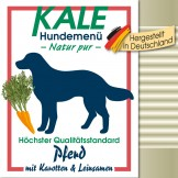Kale Dose Pferd mit Karotten & Leinsamen