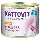 Kattovit Dose Diabetes mit Huhn 185g