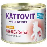 Kattovit Dose Niere/Renal mit Huhn 185g