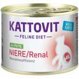 Kattovit Dose Niere/Renal mit Pute 185g