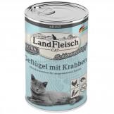 Landfleisch Cat Geflügel mit Krabben 400g