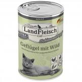 Landfleisch Cat Geflügel mit Wild 400g