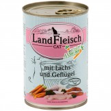 Landfleisch Cat Lachs & Geflügel 400g