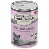 Landfleisch Cat Rind mit Lamm 400g