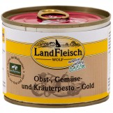 Landfleisch Dog Wolf Pesto Gold 200g
