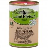 Landfleisch Dog Wolf reiner grüner Rinderpansen