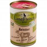 Landfleisch Dog Wolf sensibel Rentier