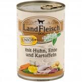 Landfleisch Junior Huhn, Ente und Kartoffeln