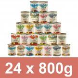 Landfleisch Vorteilspack Dosen 24 x 800g