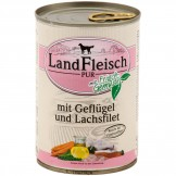 Landfleisch pur Geflügel & Lachsfilet