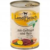 Landfleisch pur Geflügel & Reis