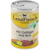 Landfleisch pur Geflügel & Reis (Extra mager)