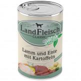 Landfleisch pur Lamm u. Ente mit Kartoffeln