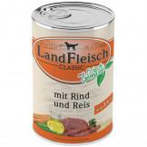 Landfleisch pur Rind & Reis (Extra mager)