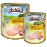 Macs Cat Dose Huhn pur mit ganzen Geflügelherzen