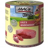 Macs Cat Dose Kitten Kalb und Hühnerherzen