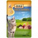 Macs Cat Pouch Ente + Shrimps 100g