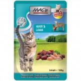 Macs Cat Pouch Huhn + Lamm 100g