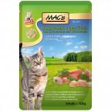 Macs Cat Pouch Kaninchen + Geflügel 100g