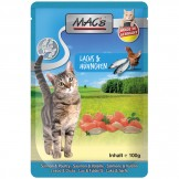 Macs Cat Pouch Lachs + Geflügel 100g