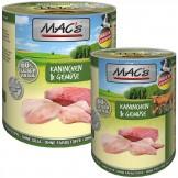 Macs Dog Kaninchen & Gemüse