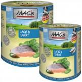 Macs Dog Lachs und Spinat