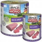Macs Dog Mono Sensitive Wild und Hirsch
