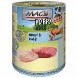 Macs Dog Puppy Huhn und Kalb