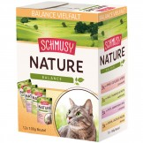 Schmusy Natures Menü Multipack 12 x 100g - Beutel