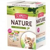Schmusy Natures Menü Multipack KITTEN 12 x 100g - Beutel