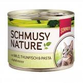 Schmusy Nature mit Wild & Thunfisch 190g - Dose
