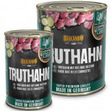 Belcando Truthahn mit Reis und Zucchini
