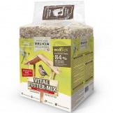 Delicia Vital Futter-Mix mit Mehlwürmern 3kg