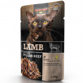 Leonardo Pouch Lamb + extra pulled Beef 70g