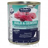 Dr. Clauders Selected Meat Joint+Active Kalb+Gemüse 800g