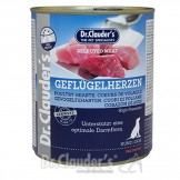 Dr. Clauders Selected Meat Prebiotics Geflügelherzen 800g