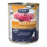 Dr. Clauders Selected Meat Prebiotics Pute+Reis 800g