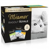 Miamor Ragout Royale Jelly Kaninchen/Thunfisch/Huhn 12x100g