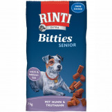 Rinti Snack Bitties Senior Huhn + Truthahn 75g