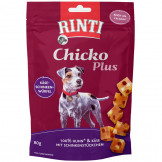 Rinti Snack Chicko PLUS Käse-Schinken Würfel 80g
