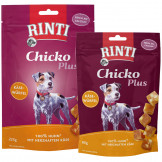 Rinti Snack Chicko PLUS Käsewürfel mit Huhn