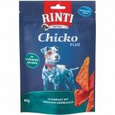 Rinti Snack Chicko Plus Huhn mit Knoblauch-Ecken 80g