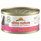 Almo Nature HFC Jelly Lachs und Huhn 70g
