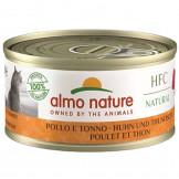 Almo Nature HFC Natural Huhn und Thunfisch 70g